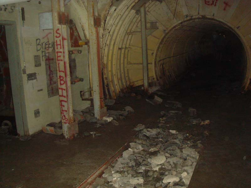 "The ""foyer"" to the fuel terminal.  The RP-1 and nitrogen tanks are through the doorway on the left."